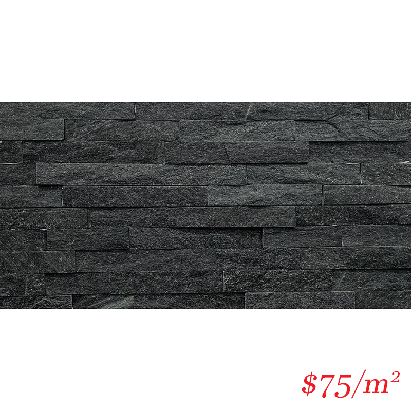 Stackstone - Black Angel Flat 600×150×10-35mm