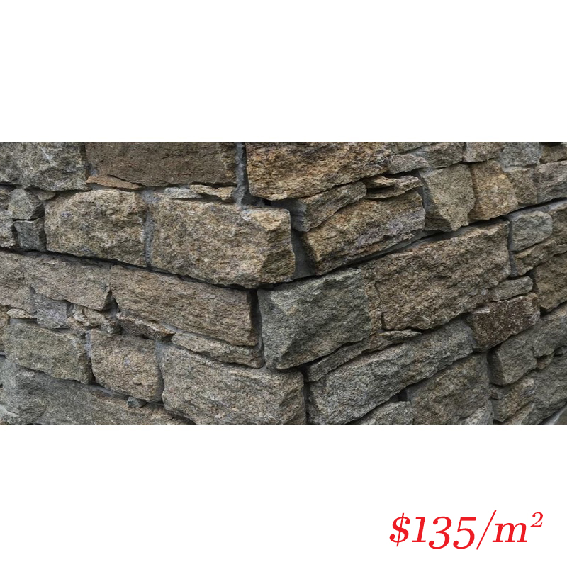 Stackstone - Dry Panel Temple Sands Corner 550×150×30-60mm