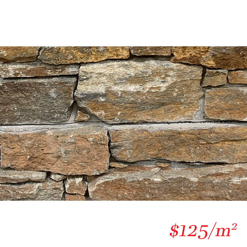 Stackstone - Dry Panel Territory Dust Flat 600×150×30-60mm