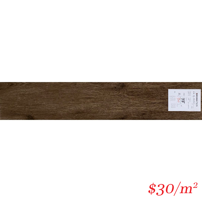 TimberLook Tile - Nutmeg 200*1000MM MATT
