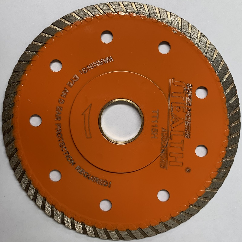 "TT125H TILE TURBO BLADE DRY USE, 5""/125MM"
