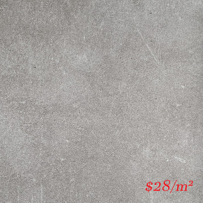 T/CONLG6060 ENTIVA CONCRETE LIGHT GREY MATT 600*600 REC.