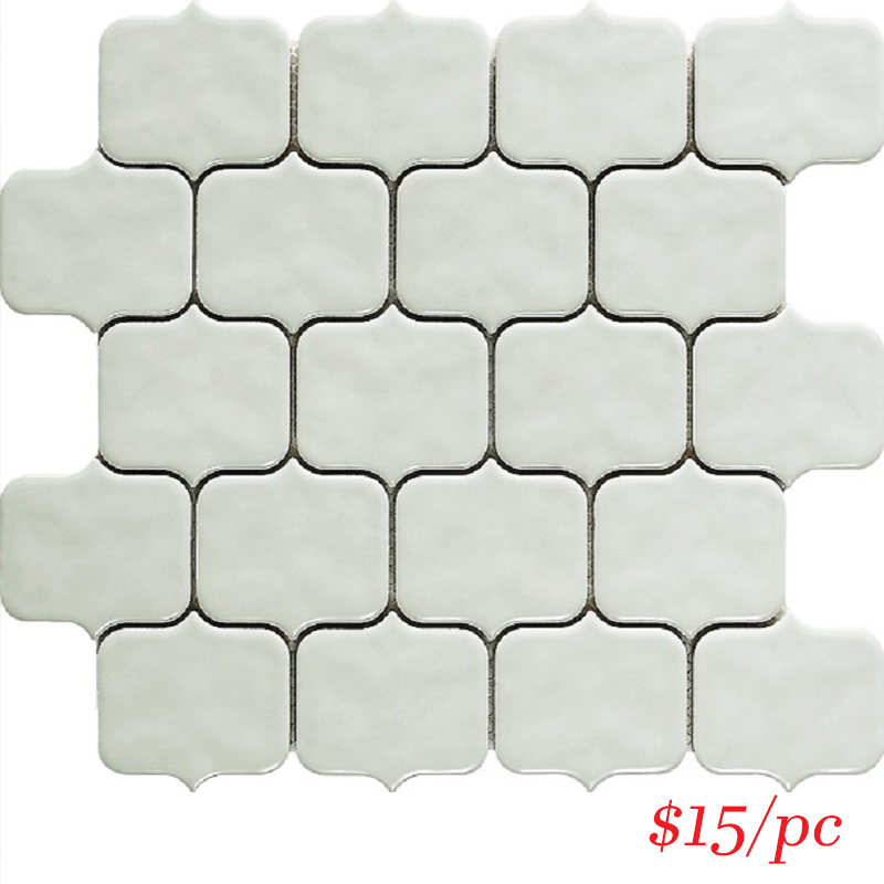 MOSAIC - T/MOBUIC ENTIVA MOROCAN BUBBLE ICE MOSAIC 276*288mm