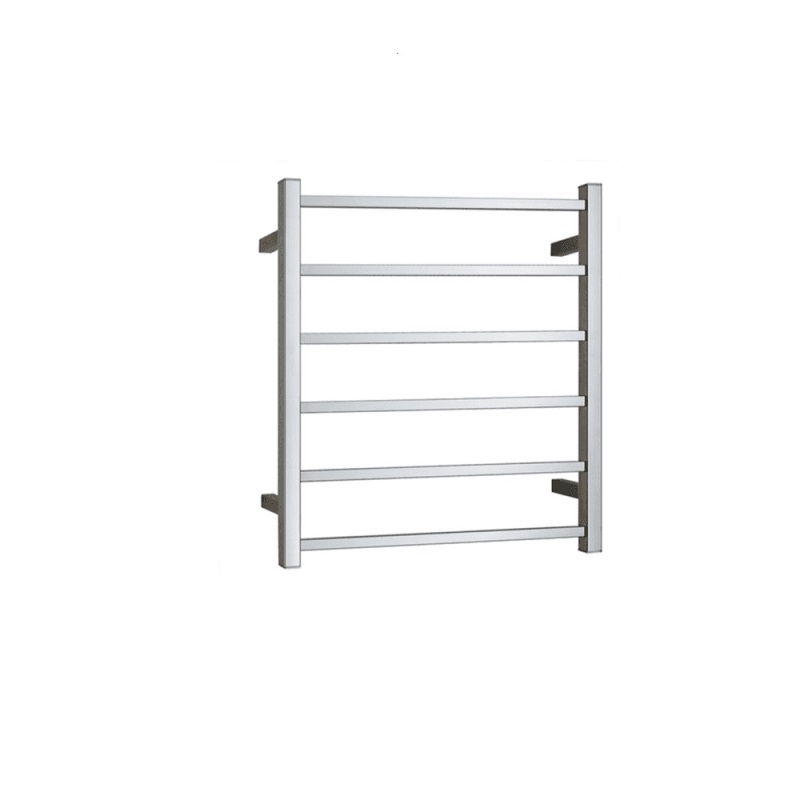 TP7062H BIANCO Stainless Steel Heated Square Towel Ladder