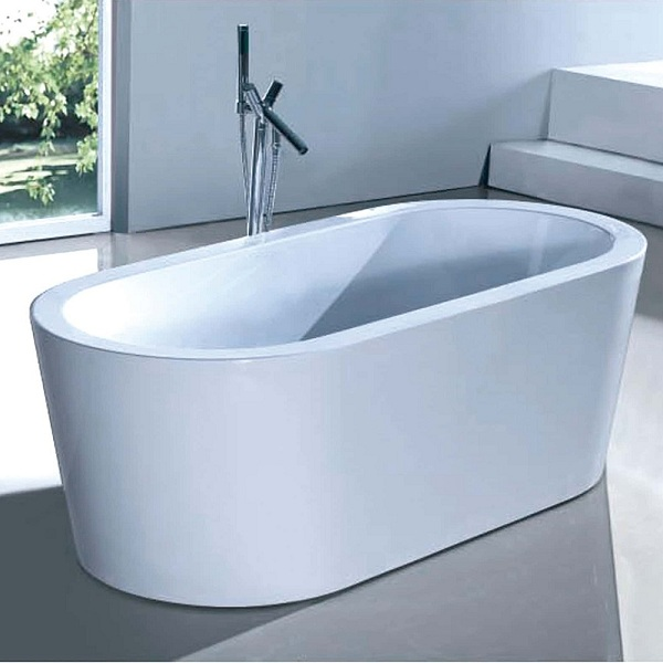 BT 014S - 1565mm*780mm*540mm REFLECTION Oval Bath Tub 1565