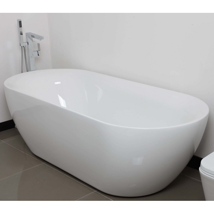 BT 188 - 1800mm*800mm*550mm SORRENTO Oval Bath 1800