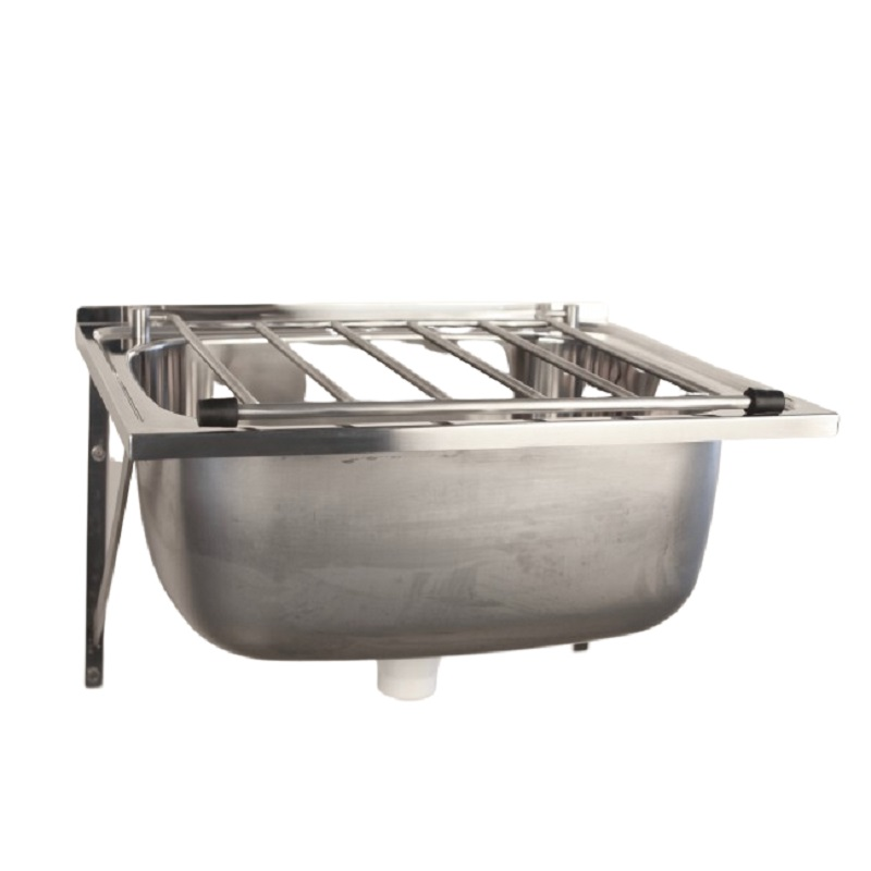 SS A615 Mop sink with Grate Capacity: 45L