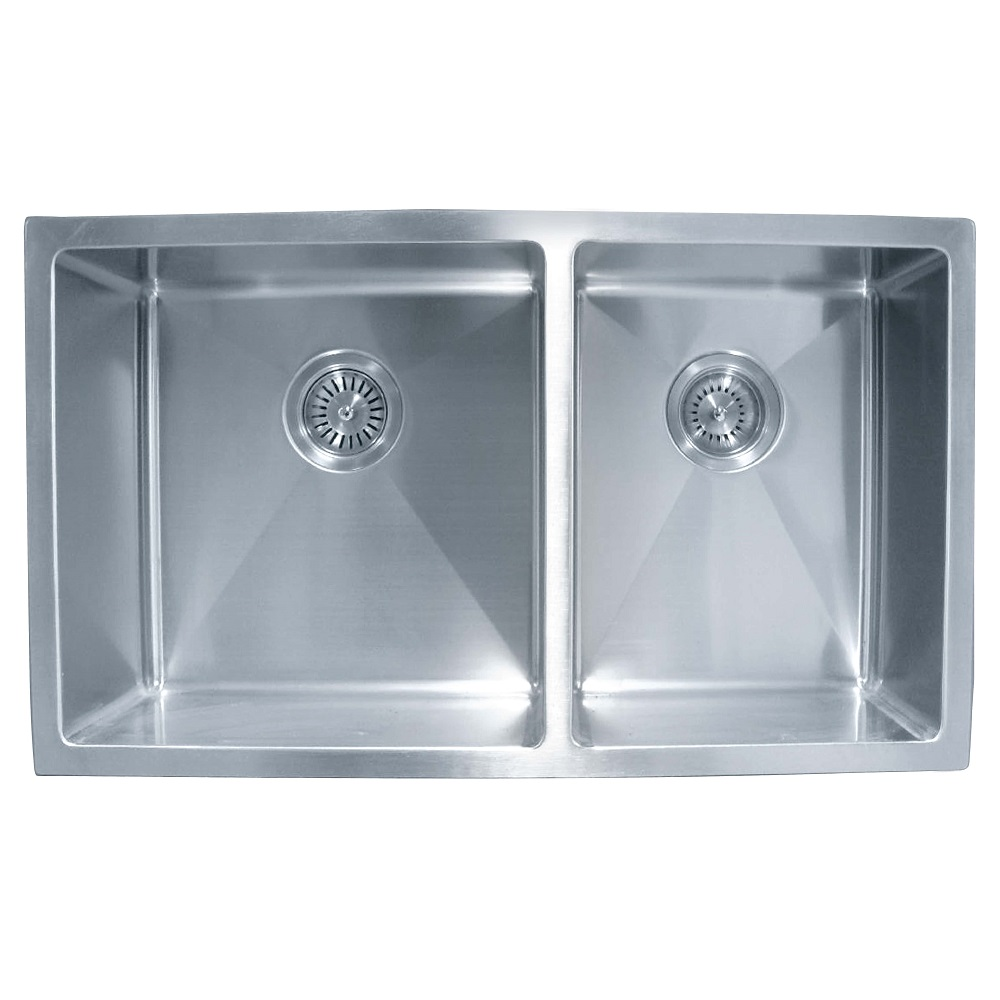 SS 4031A IMPACT UNDERMOUNT DOUBLE SINK Capacity: 32L & 24L