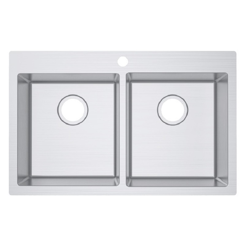 SS 8051 COUNTERTOP SINK WITH TAPHOLE