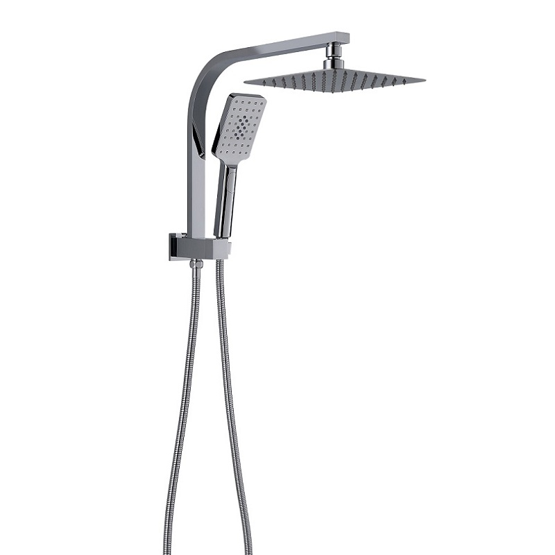 TP 1019 QUBI Compact Twin Shower Set Chrome Finish