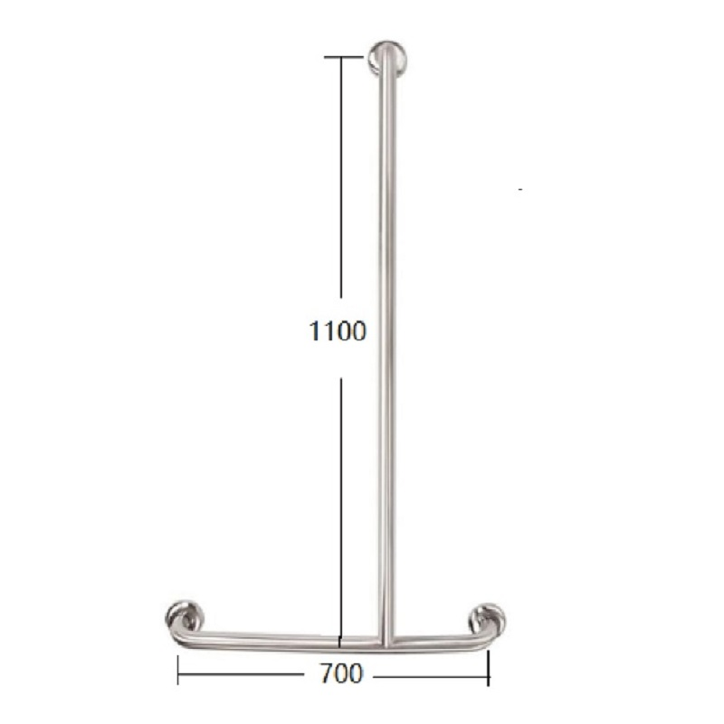 TP G19R MOBI CARE TShape Shower Rail - RH