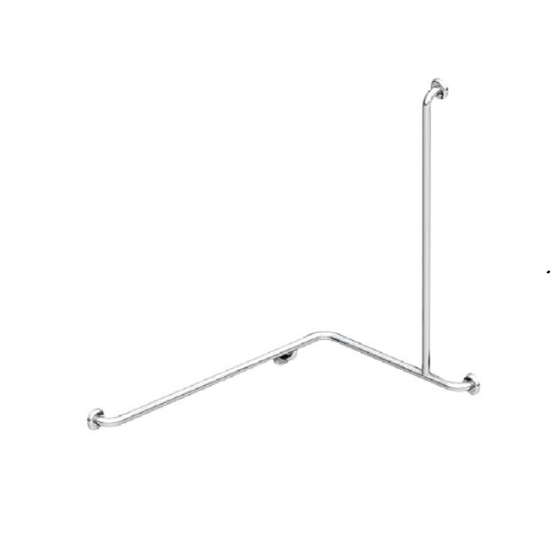 TP G22R MOBI CARE L Shape with Extension Shower Grab Rail - RH