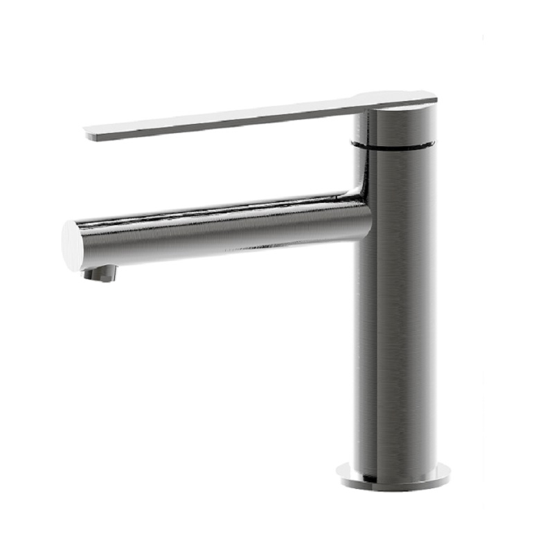 WT 2327GM MILAN Basin Mixer Gun Metal Finish