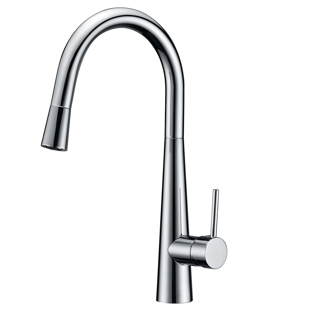 WT 4122 JESS Goose Neck Sink Mixer with Pull Out Magnet Head