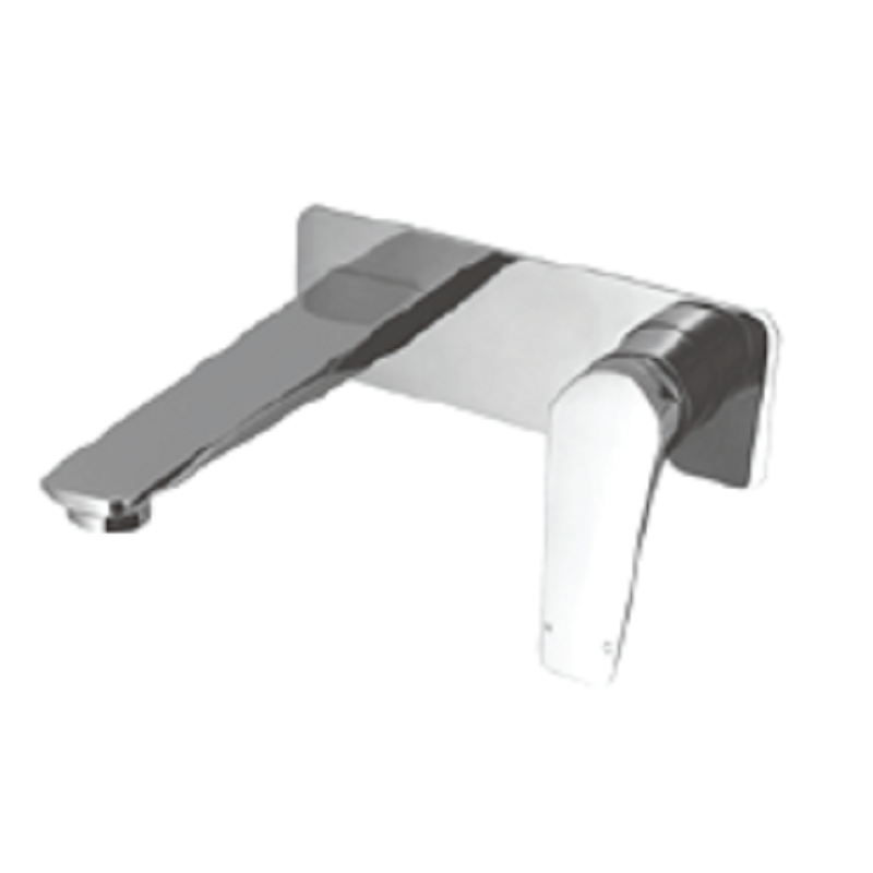 WT 1107 EXON Wall basin Mixer Chrome finish