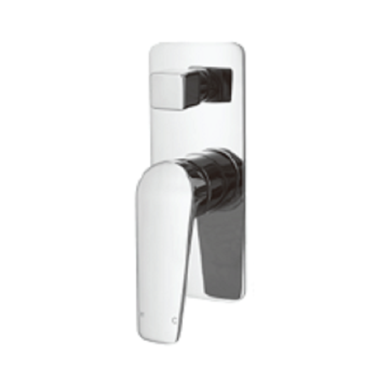 WT 1109 EXON Shower Divertor Chrome finish