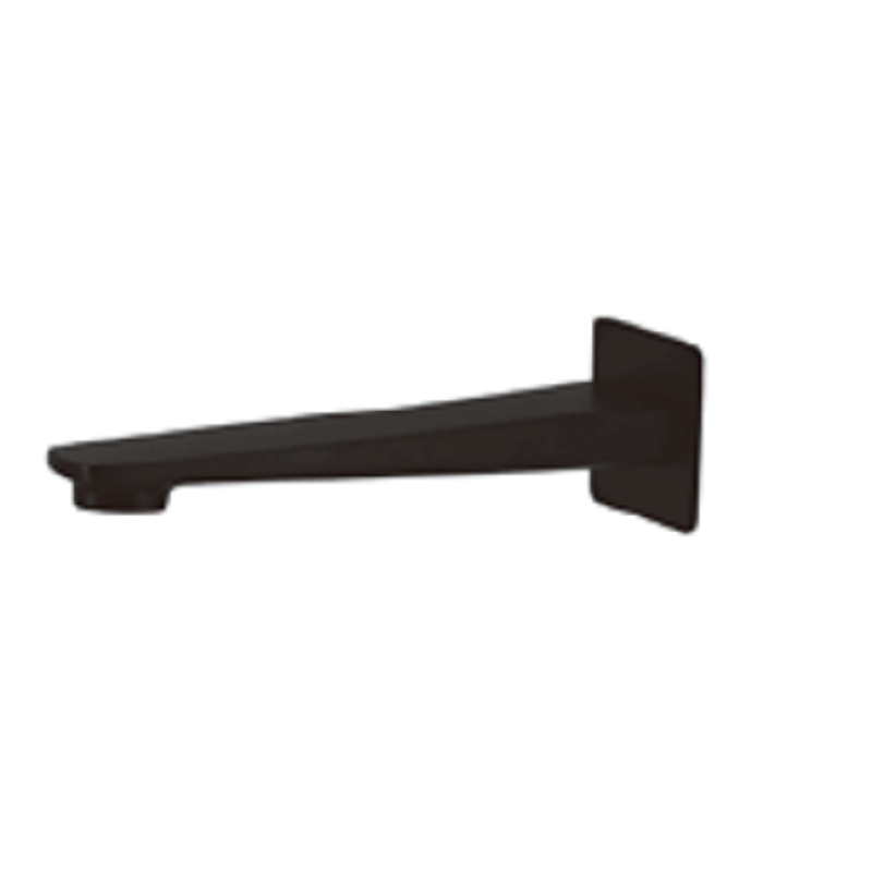 WT 118BK NOIR Bath Spout Matt Black finish