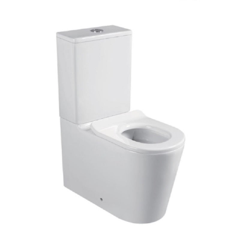 TOILET JUNIOR JUNIOR CARE Rimless Wall Faced Toilet Suite